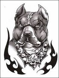 classic tough dog temporaray tattoo by tattoo fun 3 95 this is