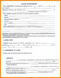 Sample Roommate Contract Sample Rental Agreement Form