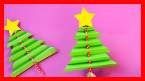 accordion paper christmas tree fun christmas crafts for kids