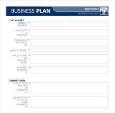 one page business plan template 4 free word pdf documents download