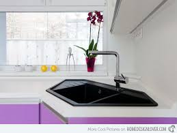 Cool Kitchen Sinks 15 Cool Corner Kitchen Sink Designs Home Design Lover