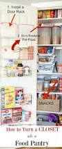 Kitchen Cabinet Pantry Ideas Best 25 Small Pantry Closet Ideas On Pinterest Diy Projects