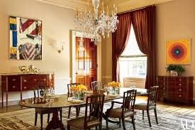 obama reveals private living areas of white house wane