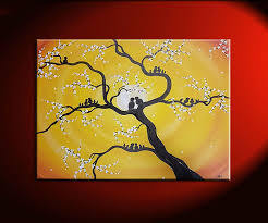 family tree painting customized personalized grandparents