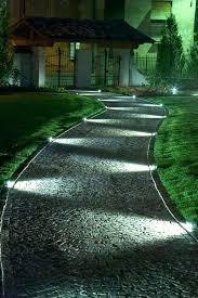 led pathway outdoor lighting kits landscape volt aluminum medium