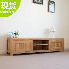 Ikea Solid Wood Cabinets Ikea Minimalist White Oak Furniture Living Room Tv Cabinet Solid