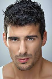 short hairstyle ideas for men with haircuts for men with thick curly hair google search