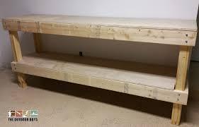 6 Foot Storage Bench Garage Workbench Easy Garage Workbench Plans Made Easyeasy