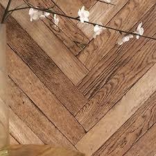 chevron planks zig zag geometric realistic wood effect wallpaper