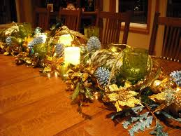 Christmas Table Centerpiece by Decorations Glisten Christmas Table Centerpiece Decoration Ideas