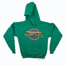 mutant turtles sewer logo licensed hoodie s