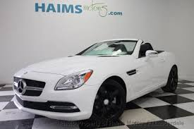 white mercedes convertible used white mercedes slk class for sale edmunds