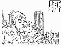 coloring teen titan coloring pages