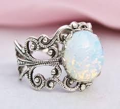 vintage opal engagement rings vintage opal engagement rings etsy wedding inspiration