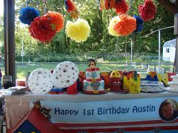 outside party pretty things by design paw patrol party for my grandson
