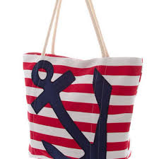 nautical tote shop anchor totes on wanelo