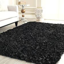 Solid Black Area Rugs Thick Plush Area Rugs Picture 26 Of 50 Fluffy Unique