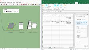 how to make a floor plan in sketchup sending areas u0026 volumes from your sketchup model to excel flux