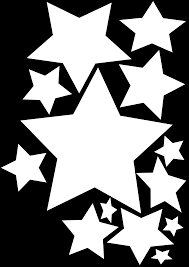falling stars clipart christmas star pencil and in color falling