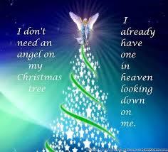 my christmas i don t need an angel on my christmas tree