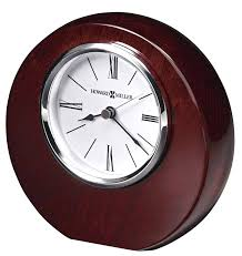 Small Desk Clock Small Decorative Desk Clocks Howard Miller Adonis 645 708 Tabletop