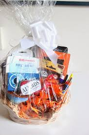 baking gift basket new survival kit