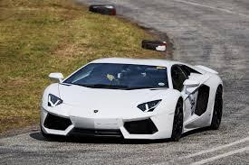 Lamborghini Aventador On Road - feast of high performance road cars and supercars at jaguar simola