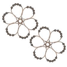 Curtain Ring Hooks 12pcs Set Shower Curtain Rings Hooks For Shower Rod Rust Proof