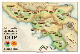 Foggia Italy Map Clal Production Of Mozzarella Di Bufala Campana Pdo Italy