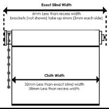Roman Blind Measurement Calculator Measuring Guide Roller Blinds Direct