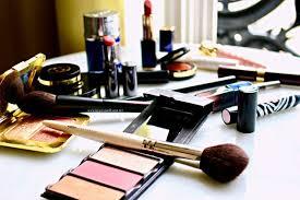 traveling makeup artist on location in shades of bleu dress fotd 1