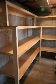 Basement Shelves Woodworking Plans by Basement Storage Reveal Diy Shelving Pool Table And Basements