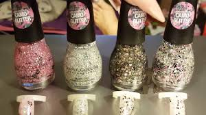 new sinful colors camp glitter polish youtube