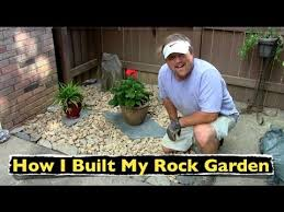 Simple Rock Garden How I Built My Rock Garden Backyard Landscaping
