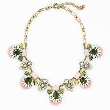 light pink necklace images Crystal pastel necklace light pink jeweled cluster necklace by jpg