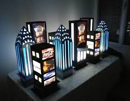 New York City Themed Party Decorations - centre de table theme new york broadway accessoires de maison
