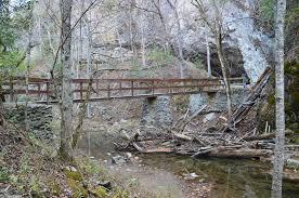Gunpowder Falls State Park Map by Natural Bridge State Park Cedar Creek Trail To Natural Bridge And