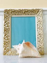 vintage gold metal filigree 8 x 10 ornate picture frame