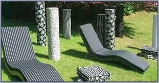 sedia sdraio giardino cuscini da esterno par