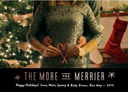15 of the cutest holiday themed pregnancy announcements today com