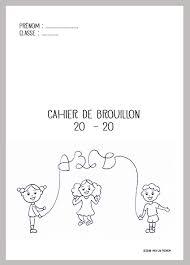 Des pages de garde originales pour vos cahiers décole élémentaire