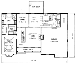 the davis 3683 3 bedrooms and 2 baths the house designers