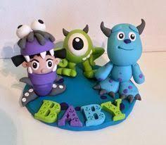 monsters inc baby shower cake monsters inc mini figure disney cake