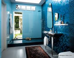 blue bathroom designs attractive bright sky blue and white