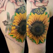 150 vibrant sunflower tattoos and meanings 2017 collection