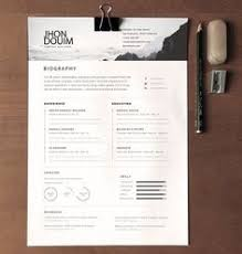 Free Resume Template Design Minimalist Resume Template Ai Psd Docx Resume Tips Pinterest