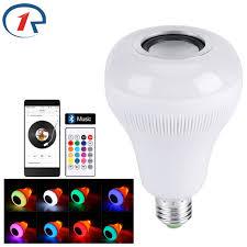 bluetooth music light bulb zjright smart wireless bluetooth music led lighting bulb e27 rgbw