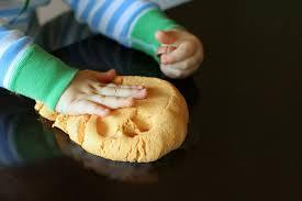 no cook gluten free edible pumpkin pie play clay