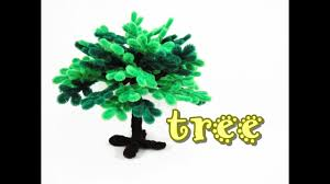 pipe cleaner craft tree youtube