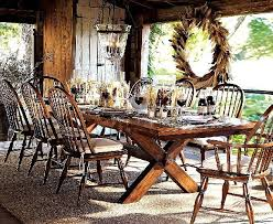 Kitchen Table Setting Ideas 476 Best Rustic Thanksgiving Images On Pinterest Fall